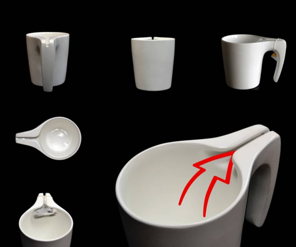 Ingenious Mug Gives Tea Bags An Easy Squeeze