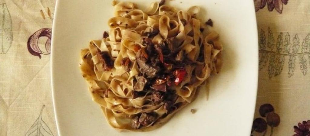 Famoso Ricetta Tagliatelle di farro con sugo di lepre - Cucchiaio d'Argento IK36