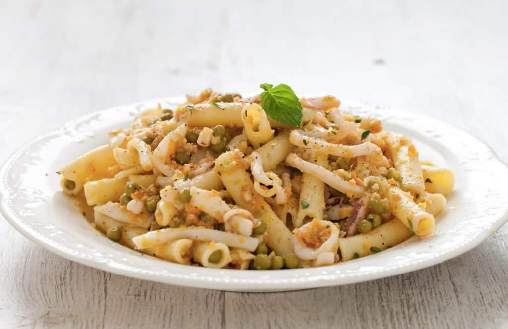 Ricetta ziti ai calamari cucchiaio d 39 argento - Cucina vegetariana ricette ...