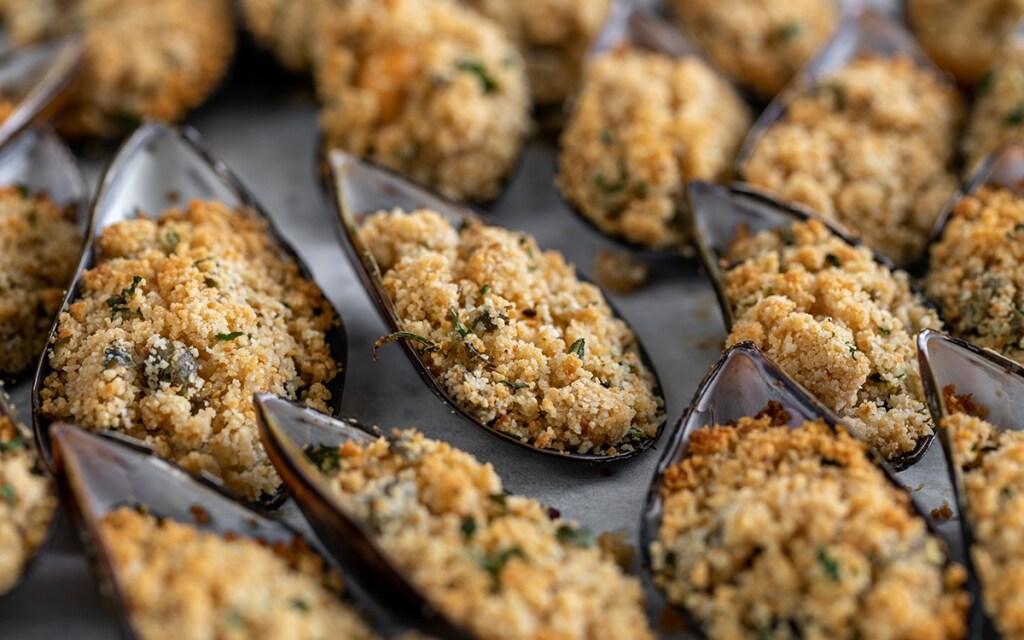 Ricetta Cozze gratinate - Cucchiaio d'Argento