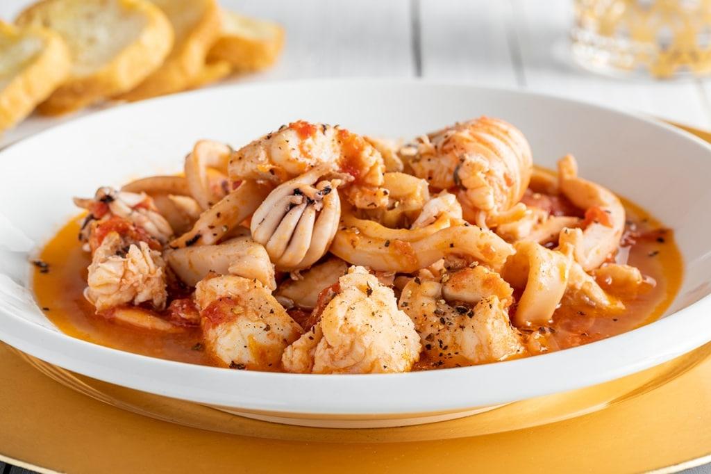 Ricetta Zuppa Di Pesce Misto Cucchiaio Dargento