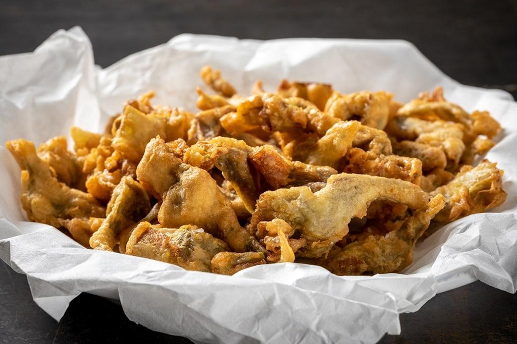 Ricetta carciofi fritti in pastella cucchiaio d 39 argento for Carciofi ricette