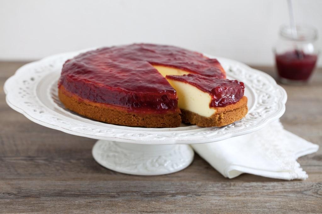 Ricetta Cheesecake Cotta.Ricetta Cheesecake Cucchiaio D Argento