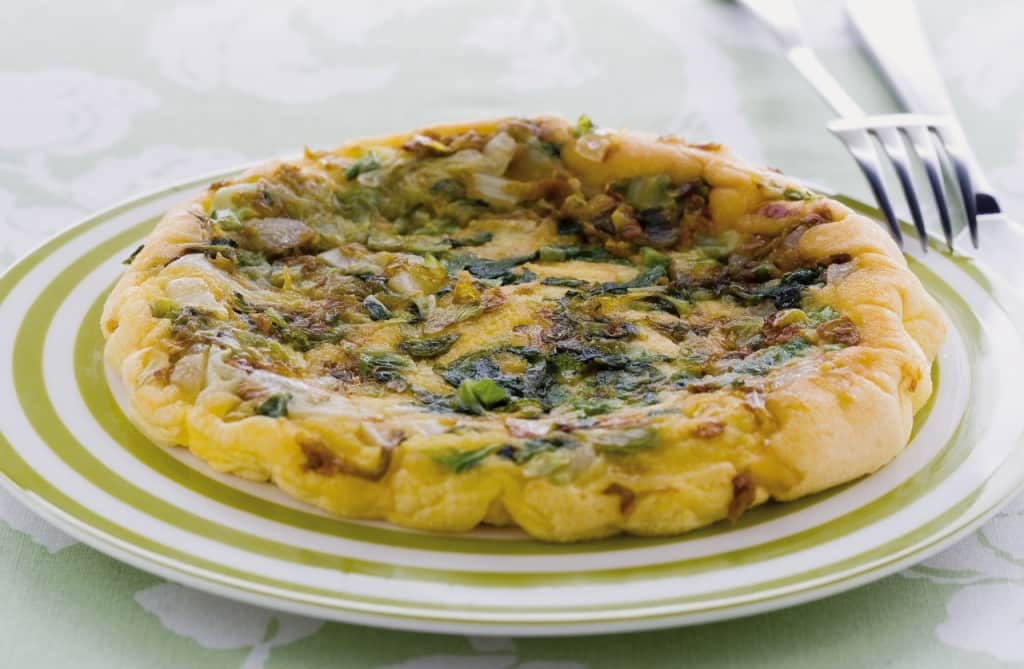 Ricetta Frittata soufflé di lattuga - Cucchiaio.it