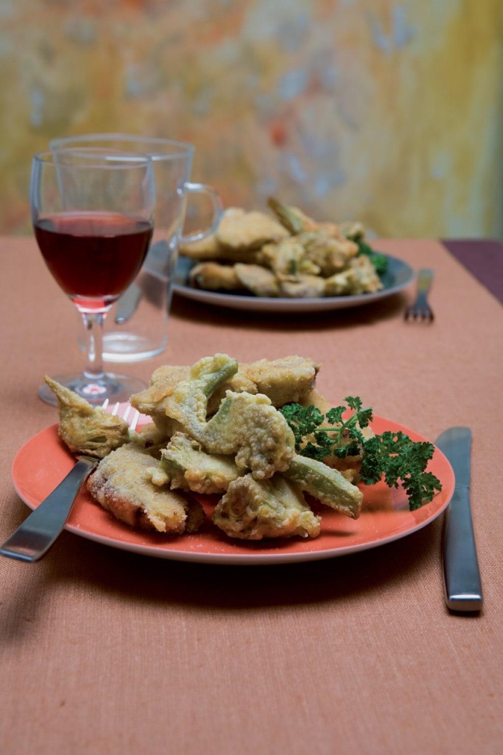 Ricetta fritto misto alla romana cucchiaio d 39 argento for Verdura tipica romana
