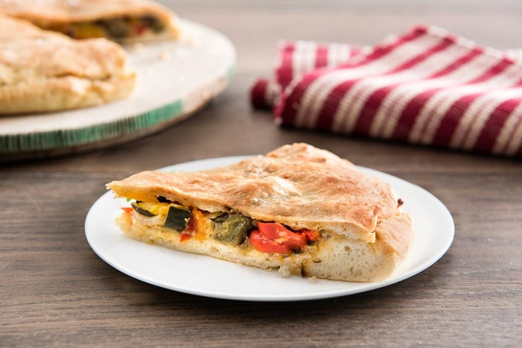 Ricetta Pizza Ripiena Di Verdure Cucchiaio Dargento