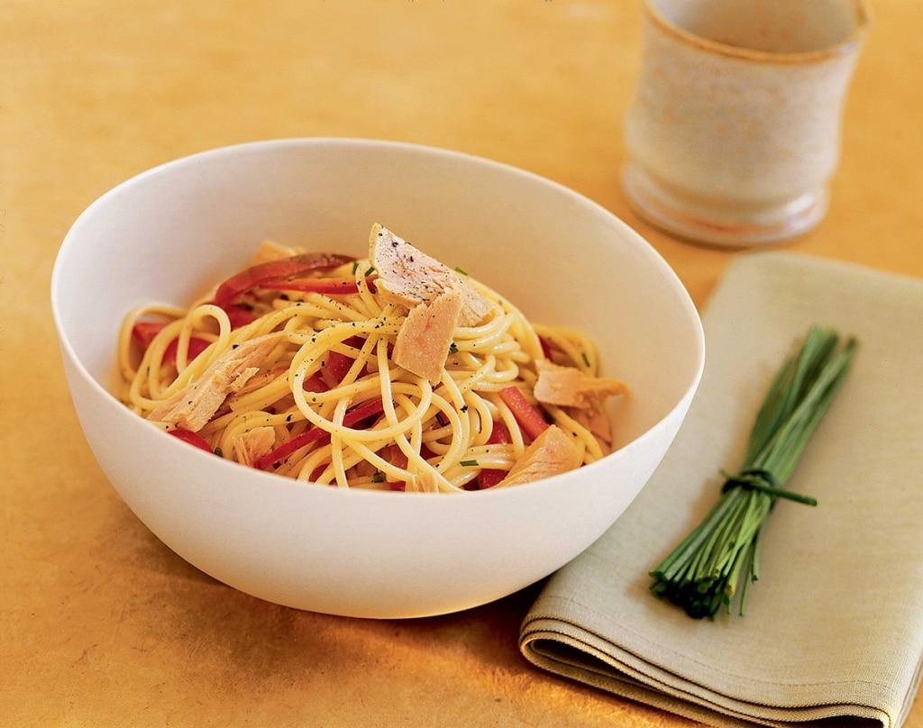 Ricetta Spaghetti Freddi Al Tonno Cucchiaio D Argento