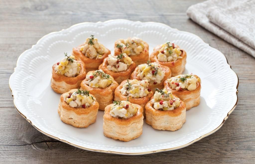 Salatini misti alle Creme di pesce