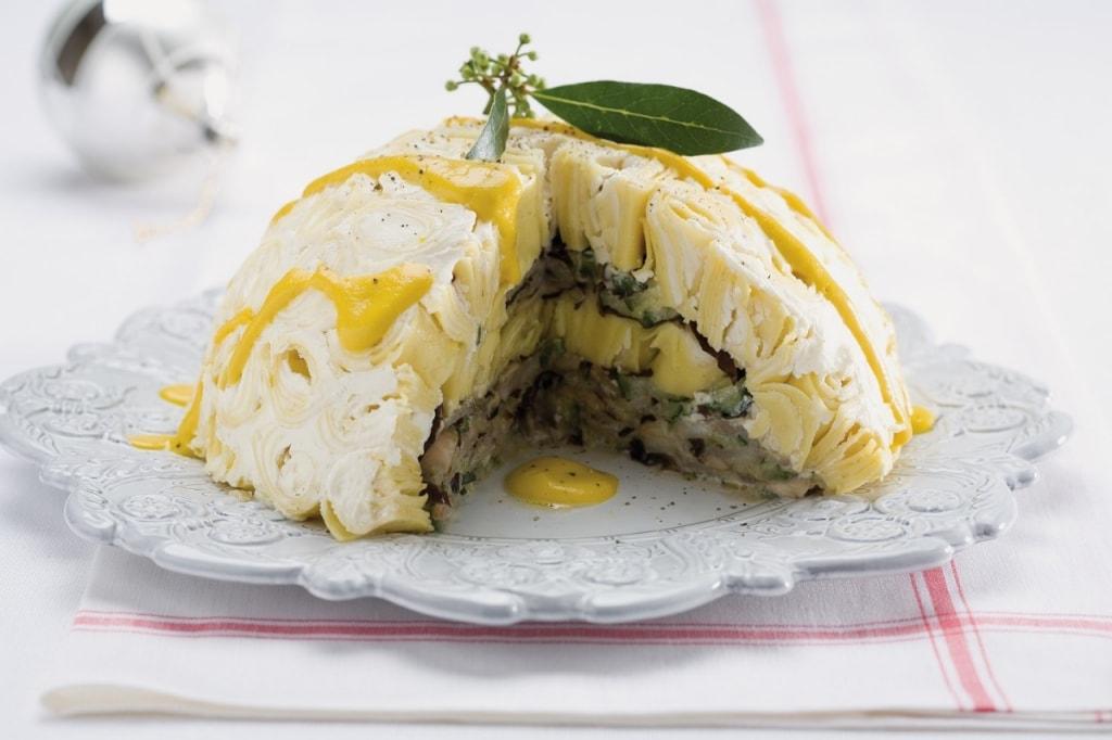 Ricetta timballo di pasta con verdure