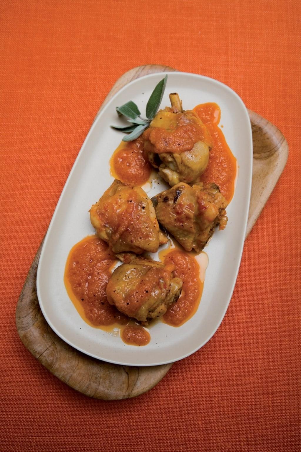 ricetta gallo in umido - cucchiaio d'argento - Come Cucinare Il Gallo