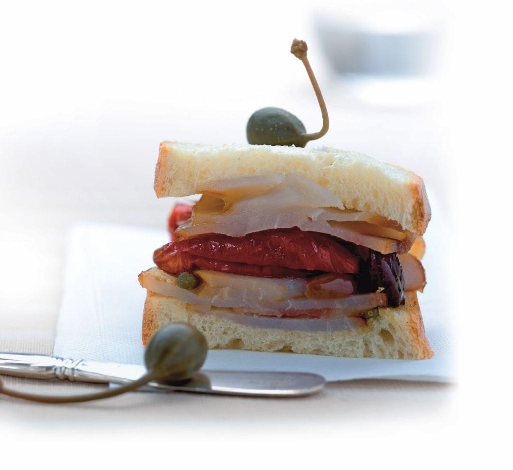 Preferenza Ricetta Panino con pesce spada, pomodorini e capperi - Cucchiaio d  LP06
