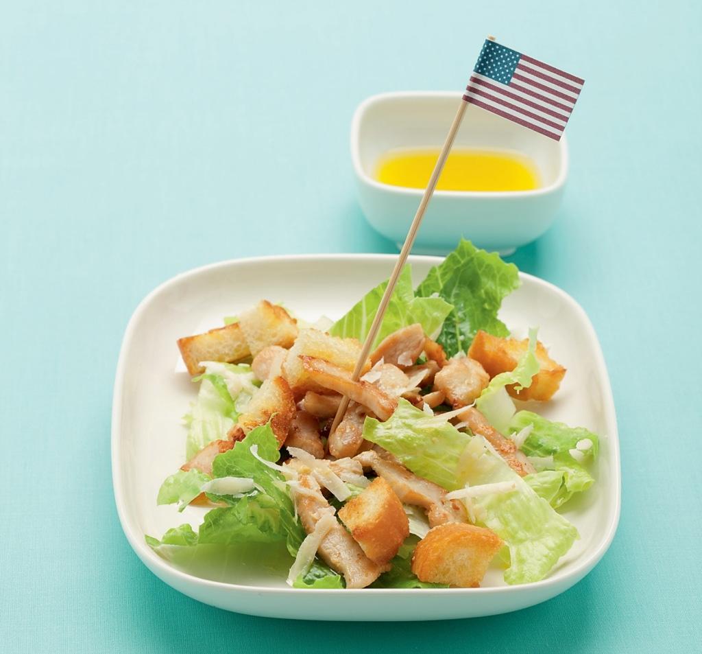 ricetta caesar salad al pollo cucchiaio d 39 argento. Black Bedroom Furniture Sets. Home Design Ideas