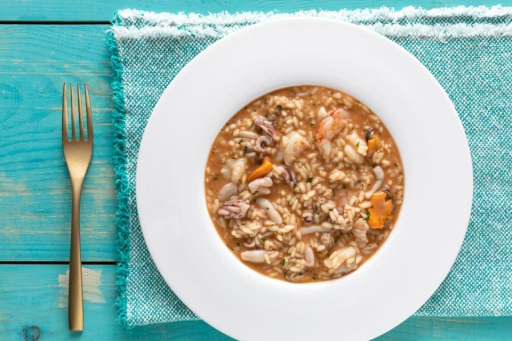 Ricetta risotto ai frutti di mare cucchiaio d 39 argento for Ricette risotti
