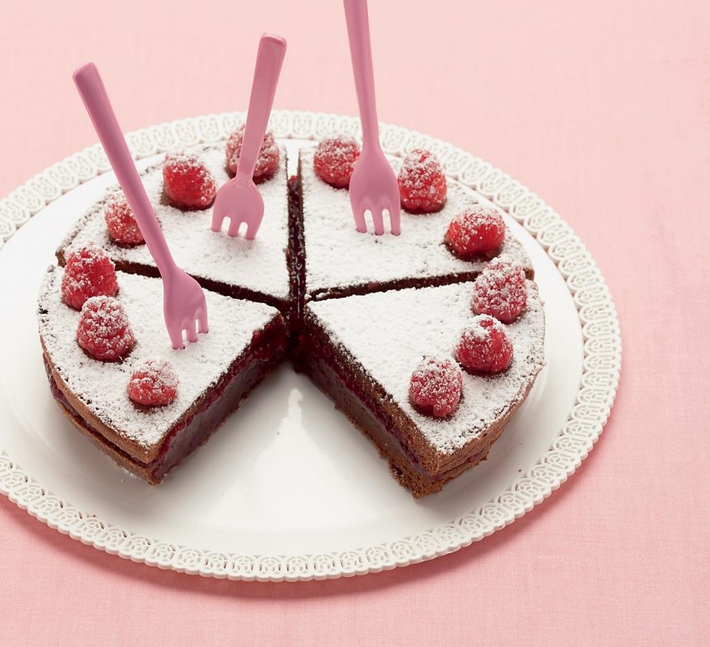 Ricetta torta con lamponi freschi