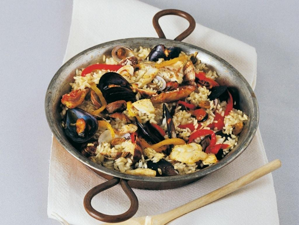 Ricetta Paella Di Pesce Cucchiaio Dargento