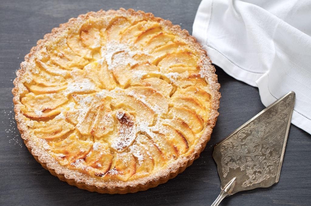 Ricetta crostata di mele con crema cucchiaio d 39 argento for Crostata di mele