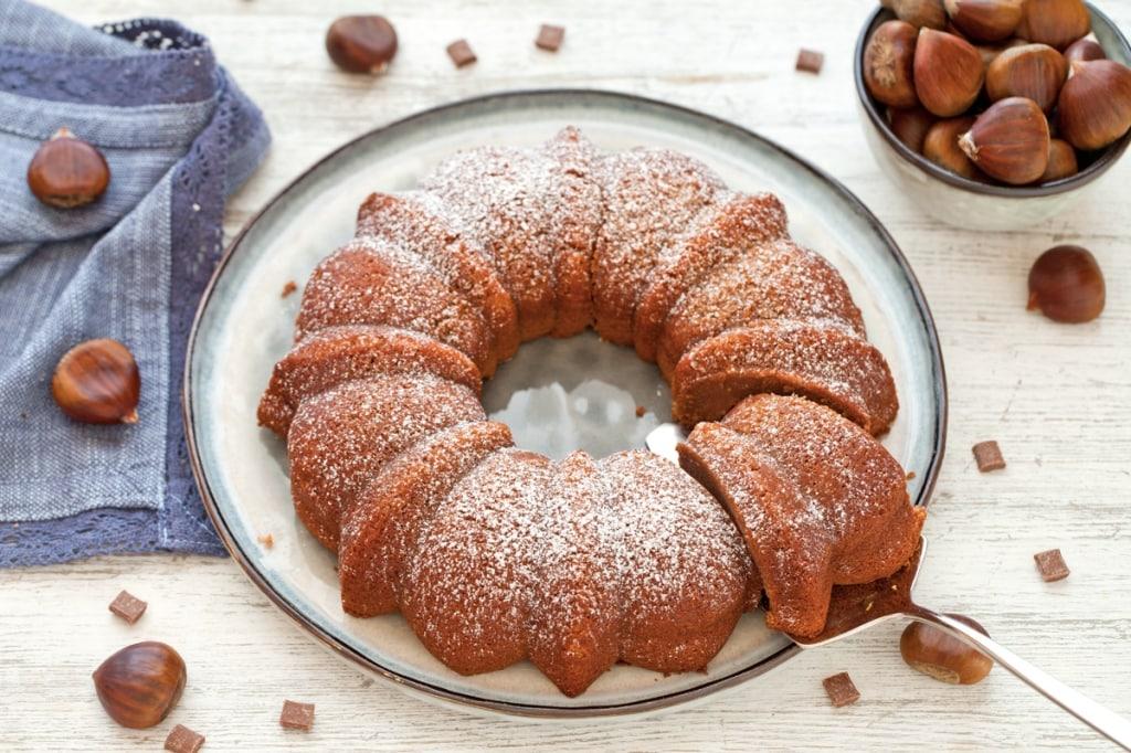 Ricetta dolce morbido di castagne e cioccolato cucchiaio for Ricette castagne