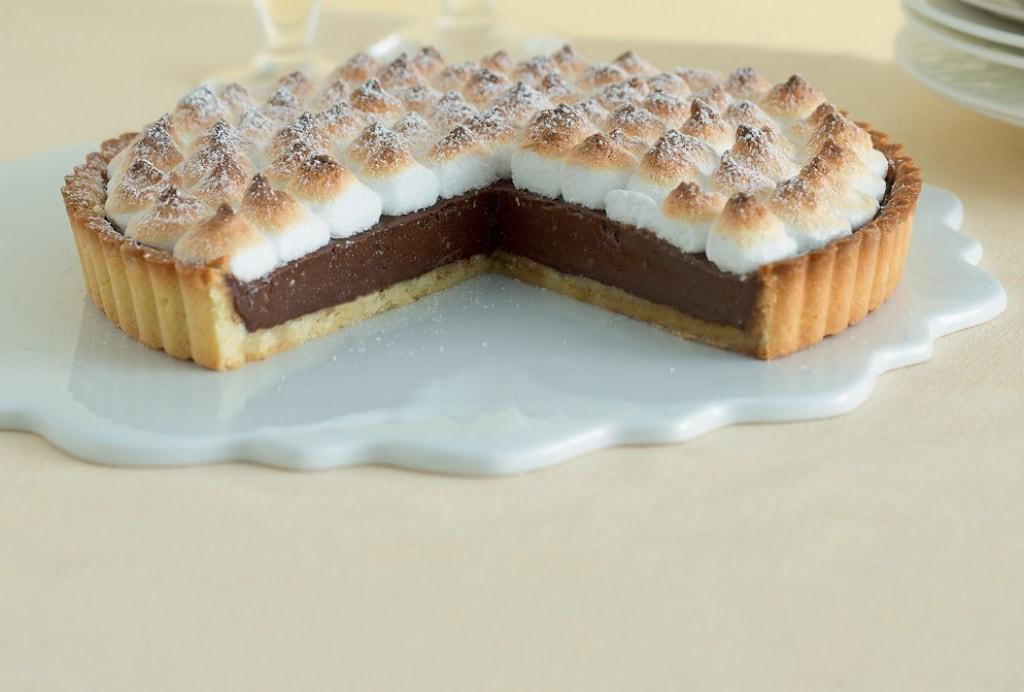 Torta con pasta frolla confezionata