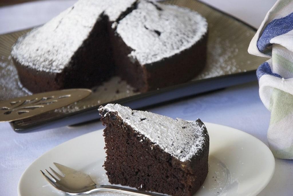 Torta Senza Burro E Uova E Latte.Torta Al Cacao Senza Uova E Senza Latte