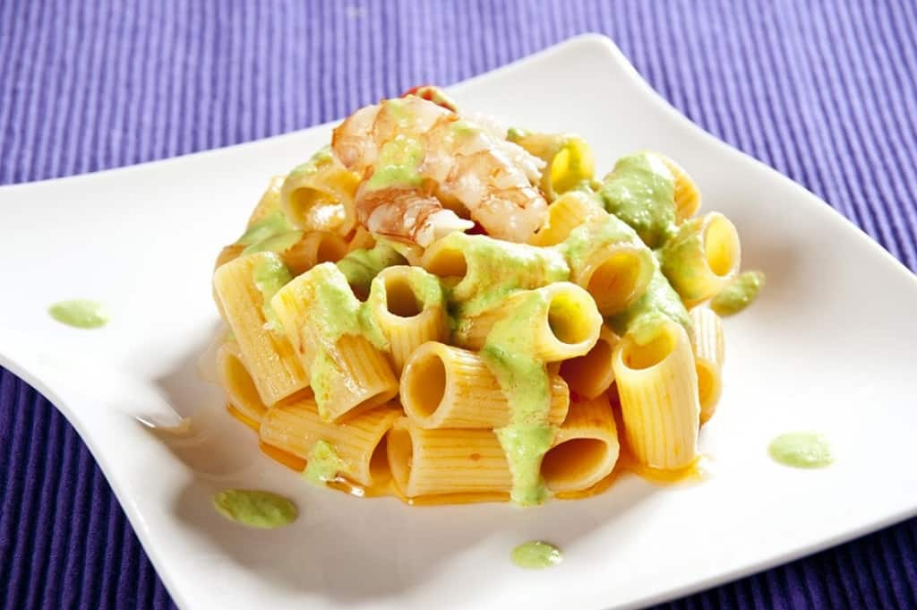 Ricette di pasta con i gamberi