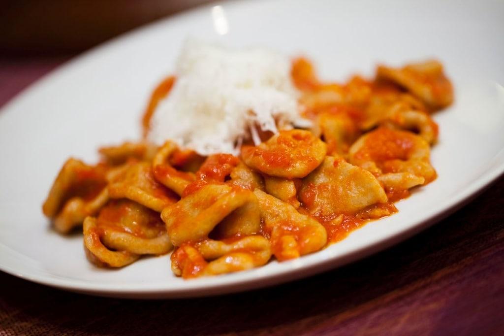 Ricetta orecchiette al sugo con cacioricotta cucchiaio d for In cucina ricette