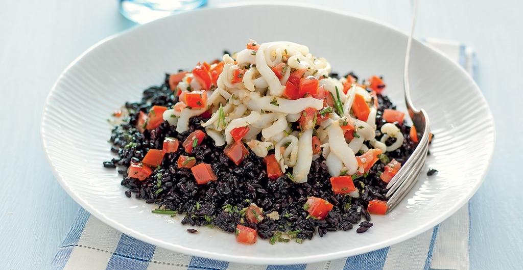 Super Ricetta Seppioline al rosmarino con riso venere - Cucchiaio d'Argento WO89
