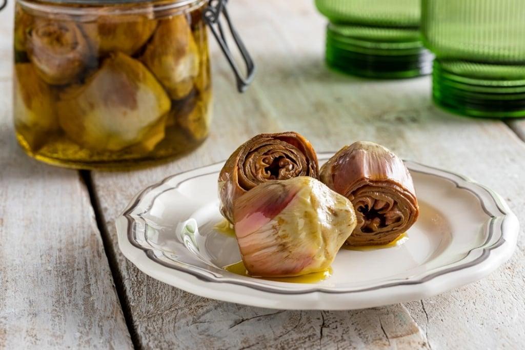 Ricetta carciofini sott 39 olio cucchiaio d 39 argento for Carciofi ricette