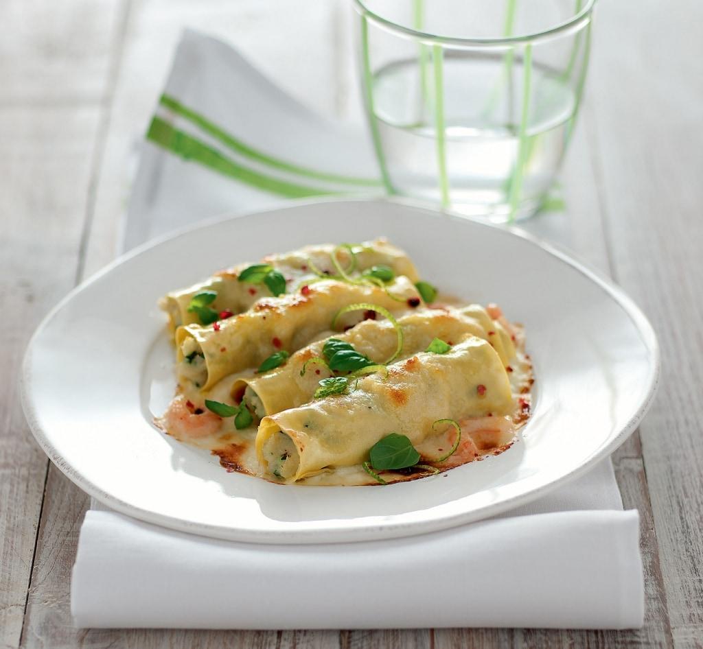 Ricetta Cannelloni di mare - Cucchiaio d'Argento