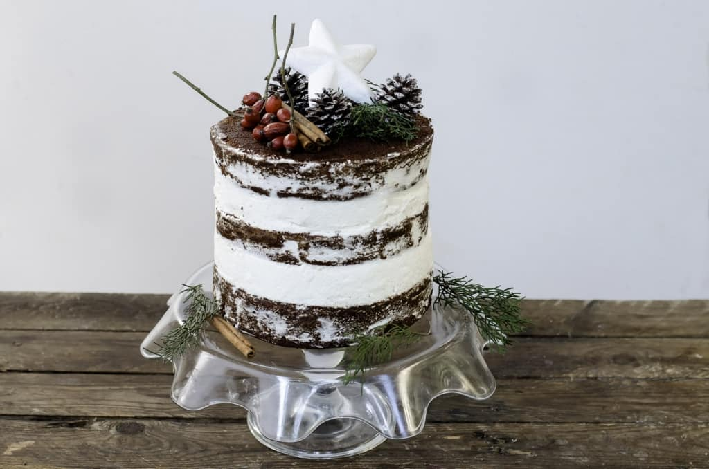 Ricetta Naked cake al cioccolato - Cucchiaio dArgento