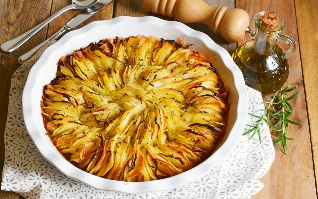 ricetta torta di patate al forno croccanti cucchiaio dargento