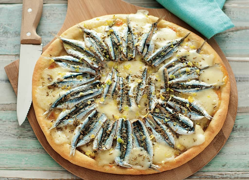 Préférence Ricetta Pizza bianca con alici - Cucchiaio d'Argento CR32
