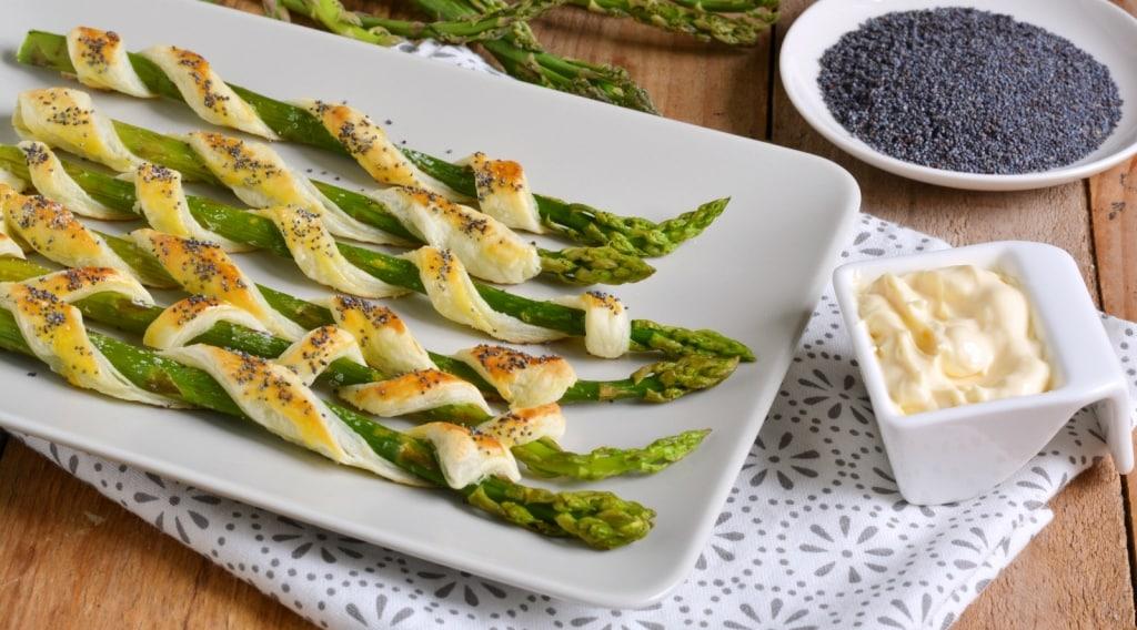 Ricette Asparagi Misya.Ricetta Asparagi In Sfoglia Cucchiaio D Argento