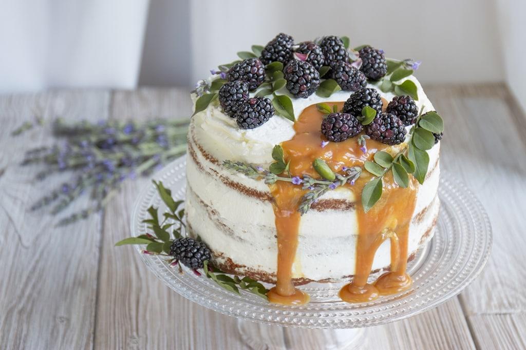 Ricetta Naked cake allo zenzero - Cucchiaio dArgento