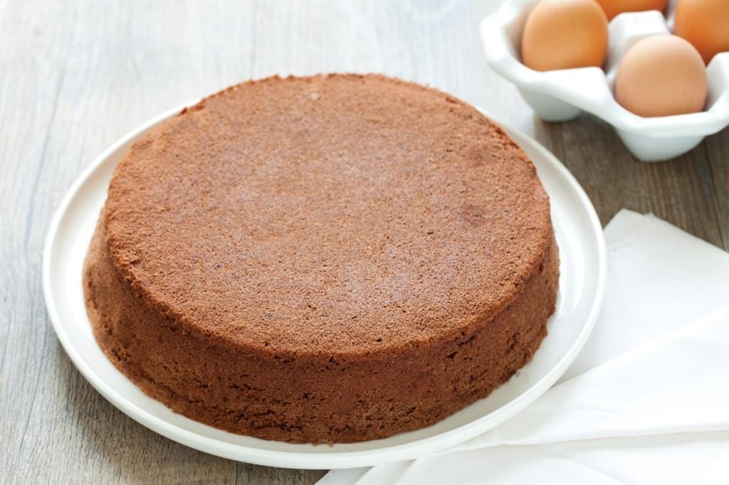 Ricetta Pan Di Spagna Al Cioccolato Bimby.Ricetta Pan Di Spagna Al Cacao Cucchiaio D Argento