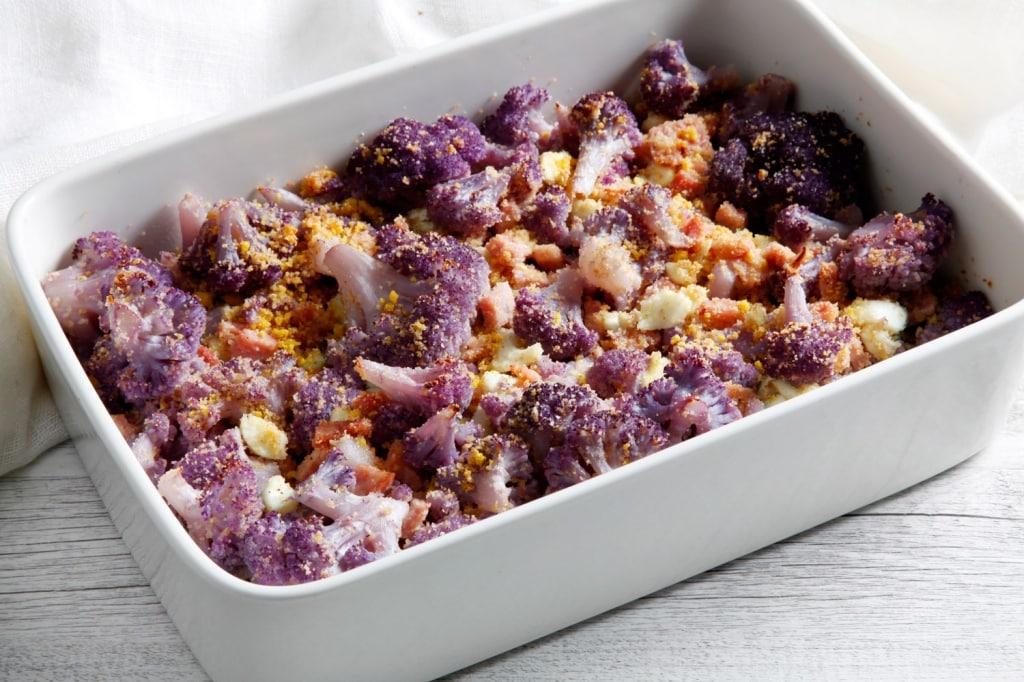 Ricetta cavolfiore viola al forno cucchiaio d 39 argento - Forno a vapore ricette ...