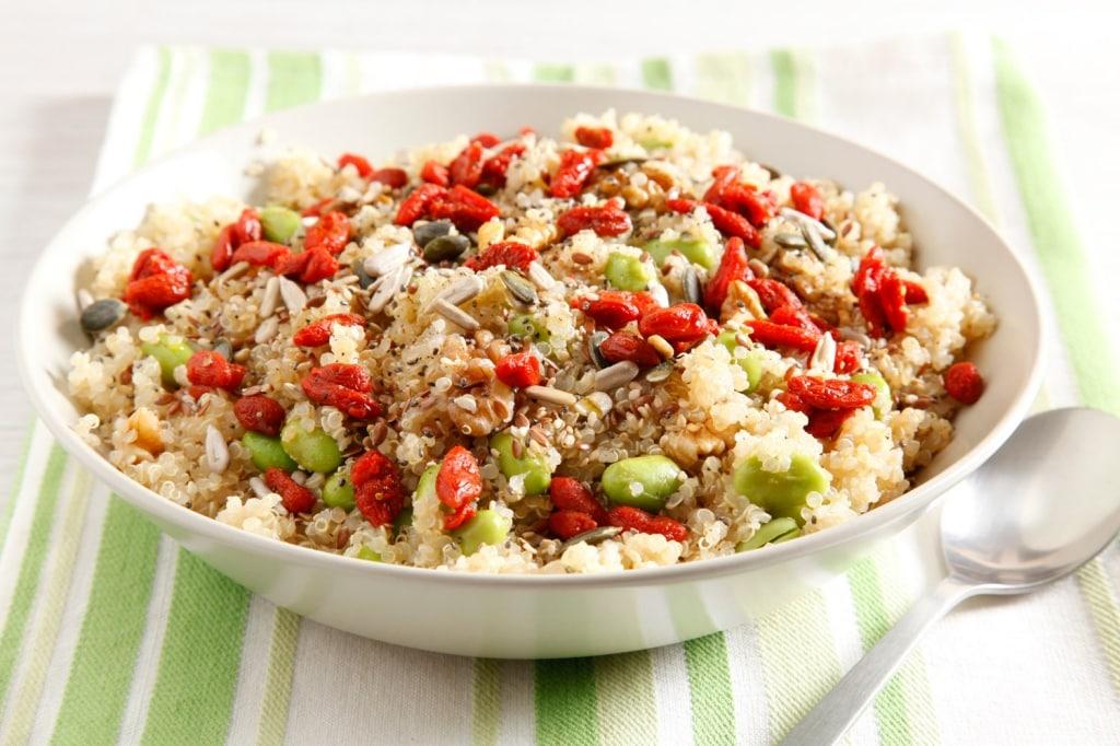 Ricetta insalata di edamame e quinoa cucchiaio d 39 argento for Ricette insalate
