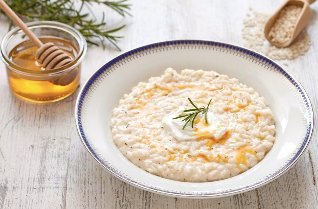Ricetta risotto al miele e rosmarino cucchiaio d 39 argento for Ricette risotti veloci