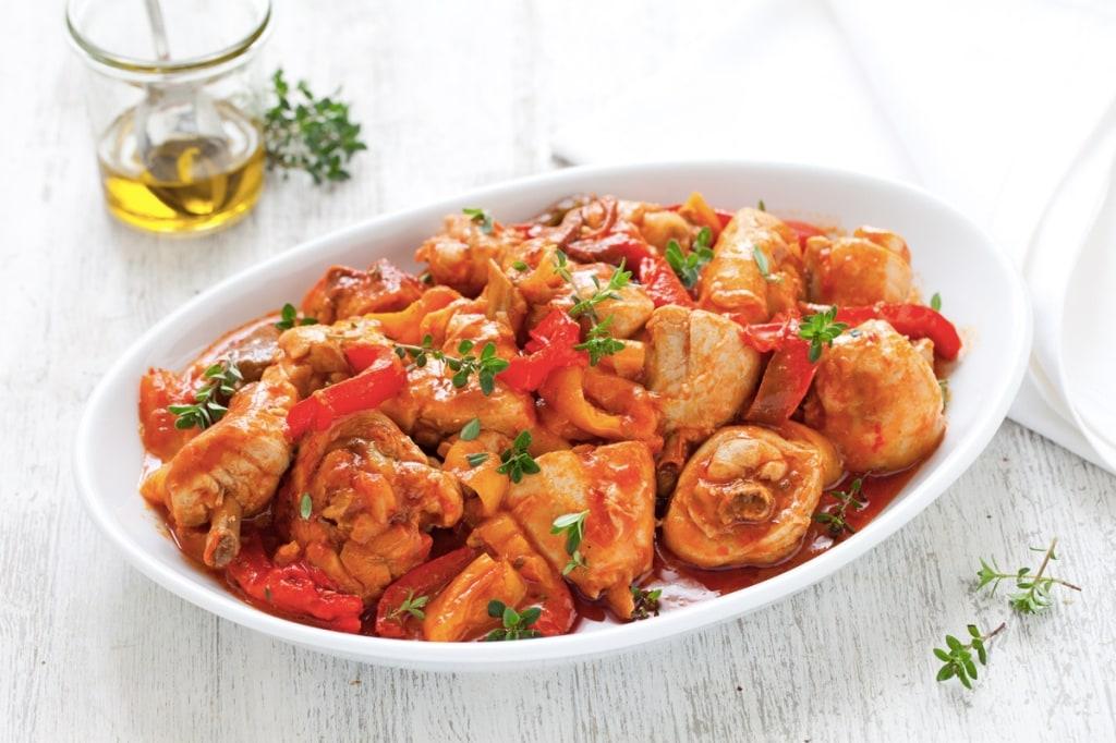 ricetta pollo ai peperoni cucchiaio d 39 argento