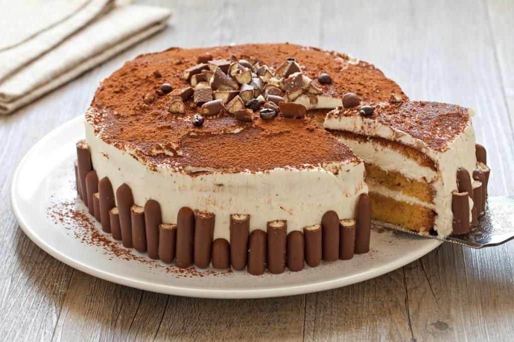 Ricetta torta tiramis cucchiaio d 39 argento for Idee per torta di compleanno
