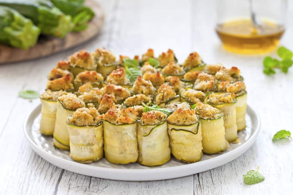 Antipasti Di Natale Con Tonno.Ricetta Zucchine Ripiene Di Tonno Cucchiaio D Argento