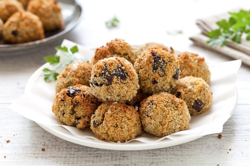 Ricette Vegetariane Quinoa.Ricetta Polpette Di Quinoa E Melanzane Cucchiaio D Argento