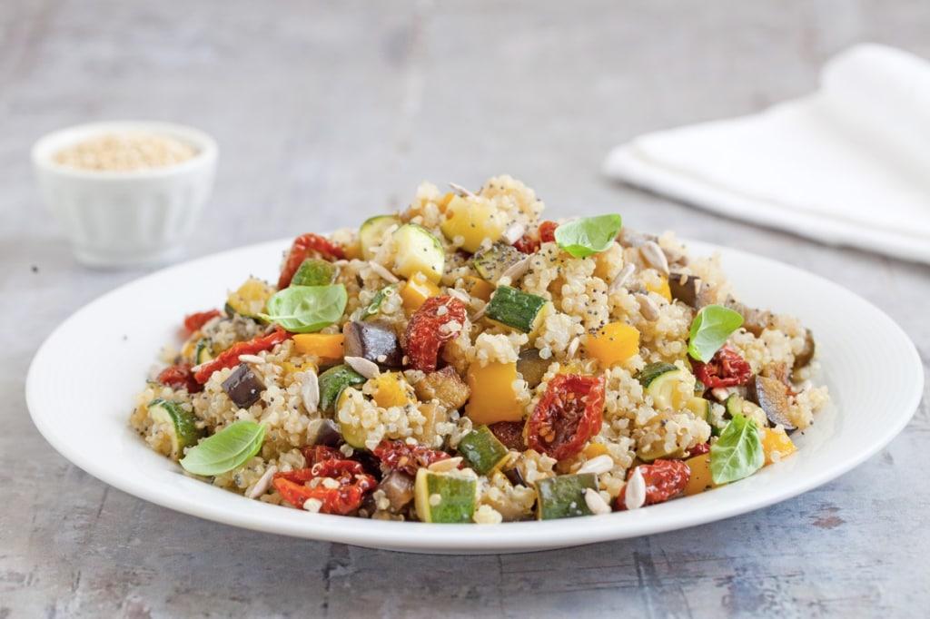Ricette Quinoa Dietetiche.Ricetta Quinoa Con Verdure Cucchiaio D Argento
