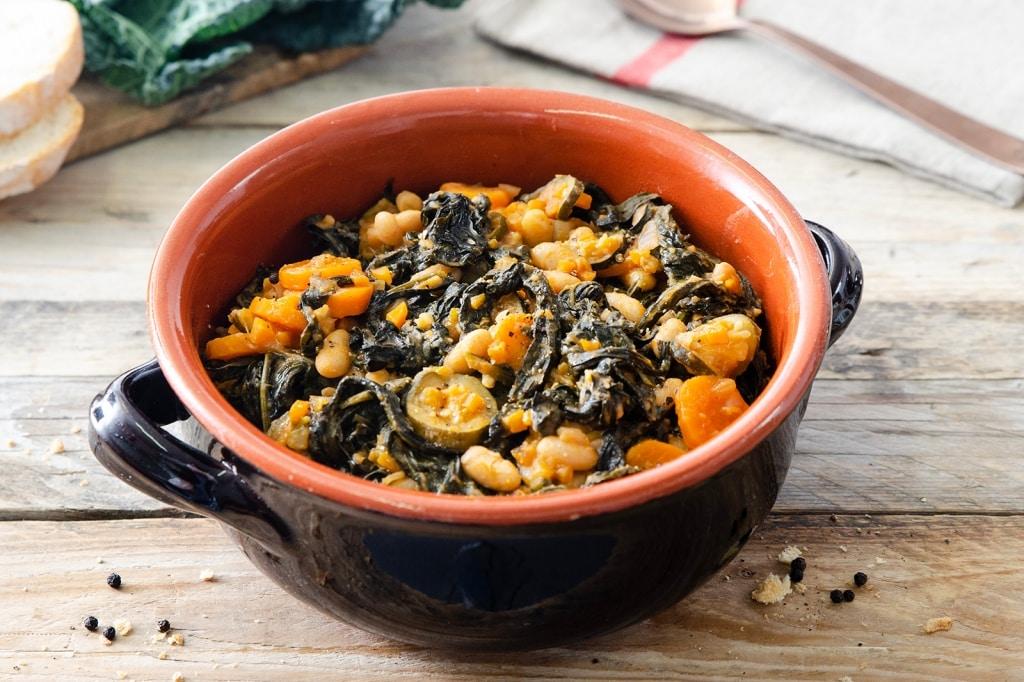 Ricetta zuppa di cavolo nero con pane toscano cucchiaio d argento