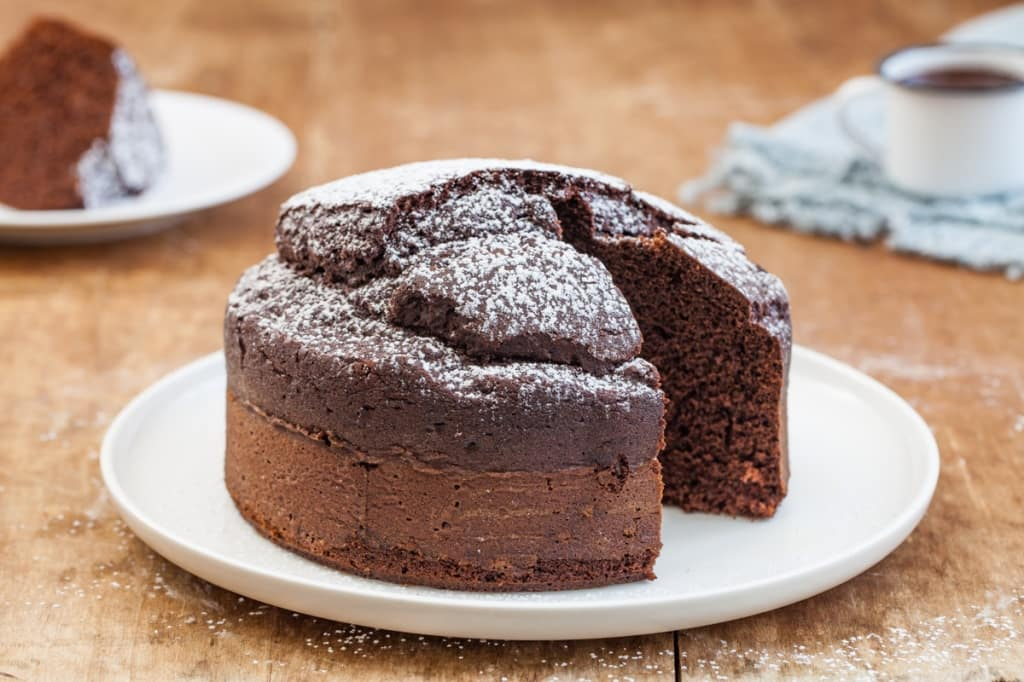 Torta Senza Uova Bimby.Torta Al Cioccolato Senza Burro Con Il Bimby