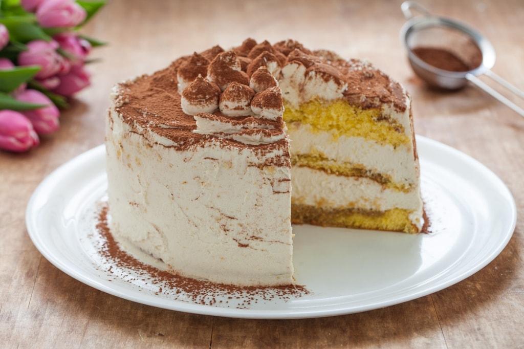 Ricetta Tiramisu Per Torta.Ricetta Tiramisu Cake Cucchiaio D Argento