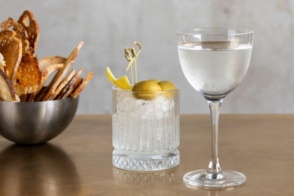 Cocktail ricetta bianco martini I 5