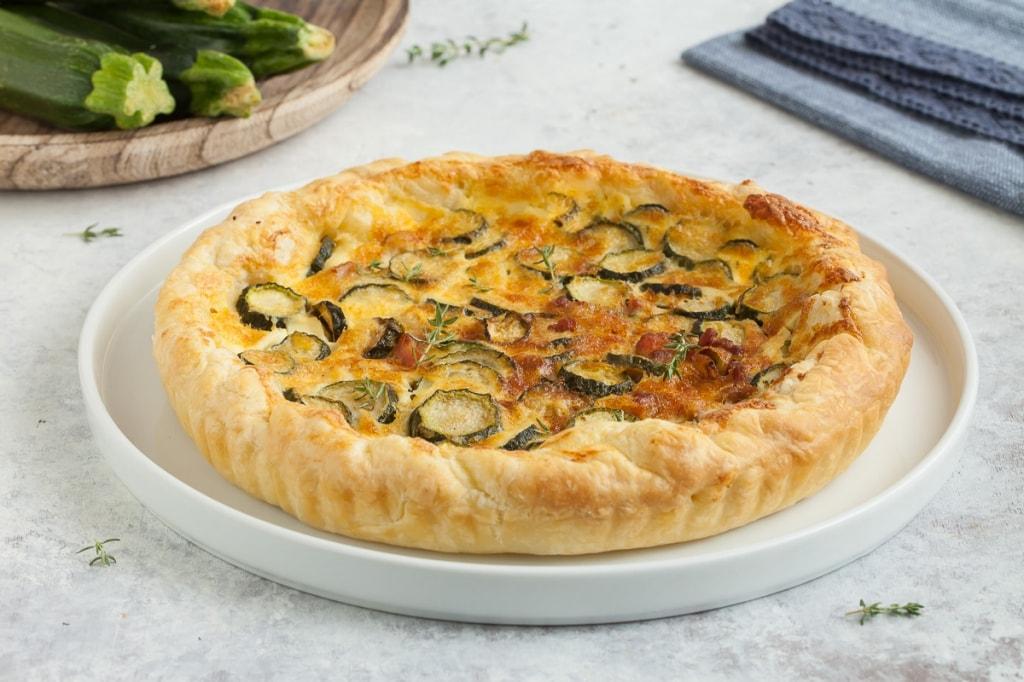 Ricetta Torta Rustica.Ricetta Torta Salata Alle Zucchine Cucchiaio D Argento