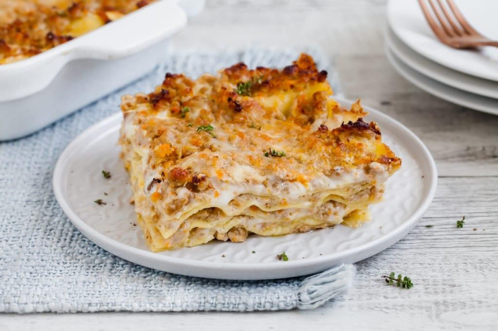 Ricetta Lasagne Bianche.Ricetta Lasagna Bianca Cucchiaio D Argento