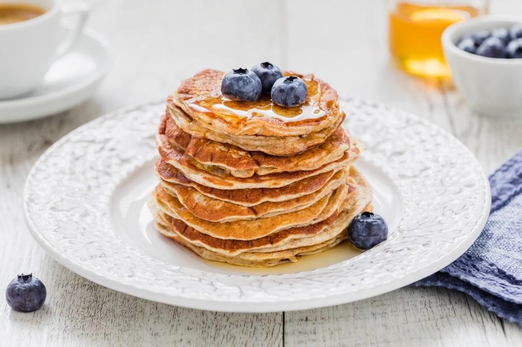 Ricetta Pancake Ipocalorici.Ricetta Pancake Light Cucchiaio D Argento