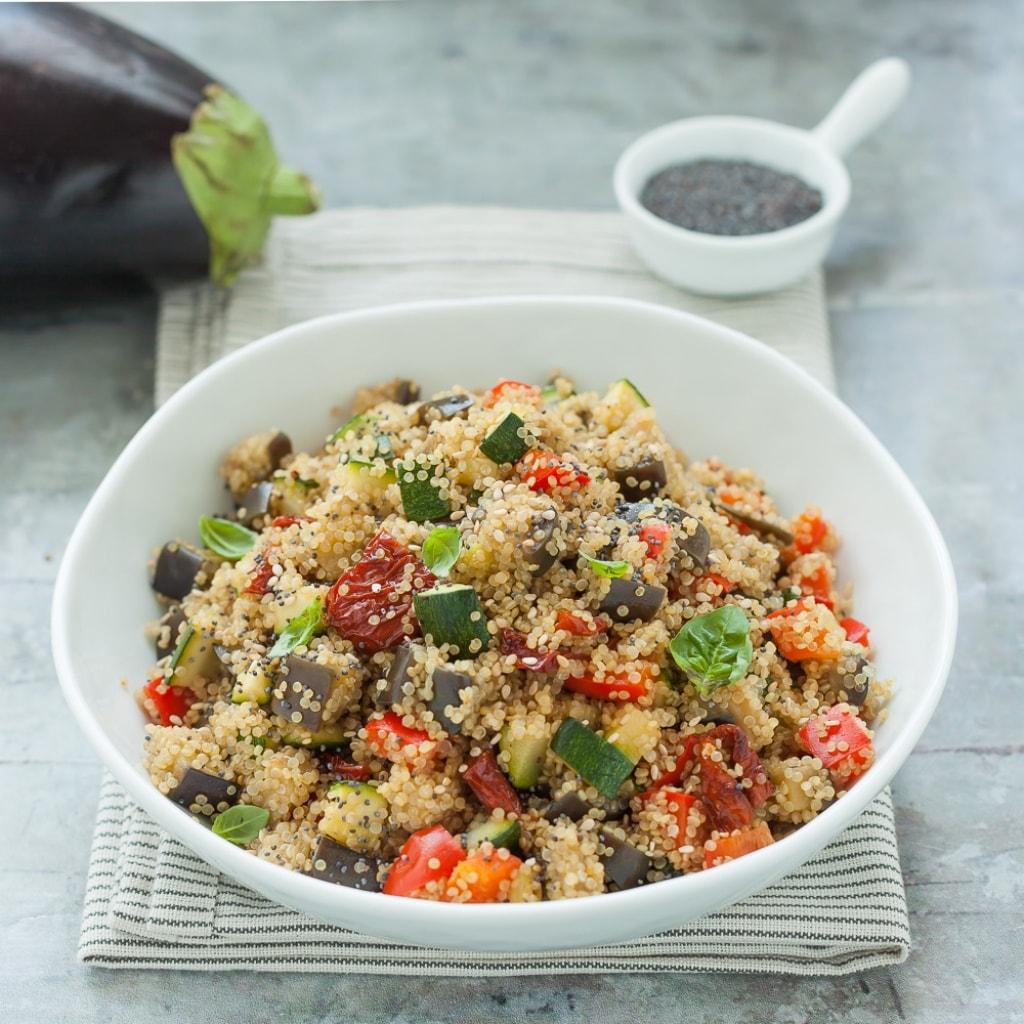 Ricetta Quinoa Con Tonno E Verdure.Ricetta Quinoa Con Verdure In Pentola A Pressione Cucchiaio D Argento
